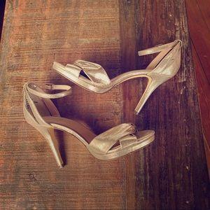 💗 Gold Shimmer Heels